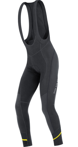 GORE BIKE WEAR Power 3.0 Thermo Lange m. seler Herrer sort